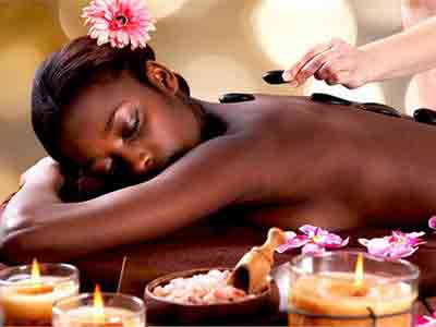 african massage image gallery in red rose spa