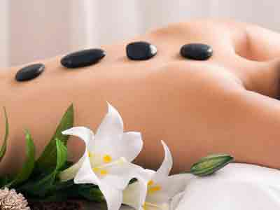 hot stone massage image gallery in red rose spa