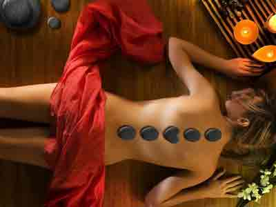 best hot stone massage image gallery in red rose spa